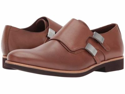Calvin Klein - Calvin Klein Men's Tan Calf Finnegan Oxfords