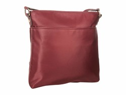 Calvin Klein Merlot Nylon Cross Body Bag - Thumbnail