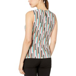 Calvin Klein Mint Multi Pleat Neck Cami - Thumbnail