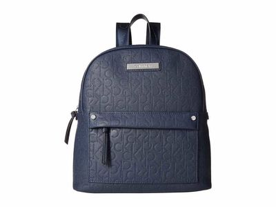 Calvin Klein - Calvin Klein Navy Bubble Lamb Novelty Backpack