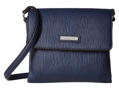 Calvin Klein - Calvin Klein Navy Bubble Lamb Novelty Original Cross Body Bag