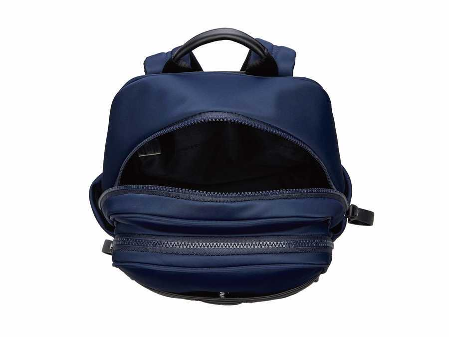 Calvin Klein Navy Lane Nylon Backpack