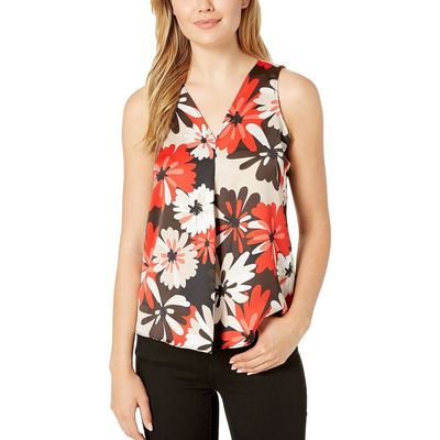 Calvin Klein - Calvin Klein Tango Multi V-Neck Soft Suiting Sleeveless Top