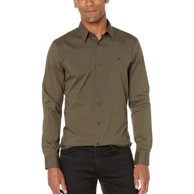 Calvin Klein - Calvin Klein Uniform The Stretch Cotton Shirt