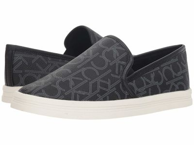 Calvin Klein - Calvin Klein Women Black Marren Lifestyle Sneakers