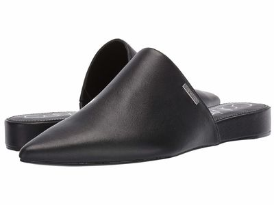 Calvin Klein - Calvin Klein Women Black Soft Nappa Shine Chantalia Loafers
