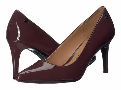 Calvin Klein - Calvin Klein Women Dark Cranberry Nilly Pumps