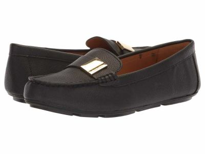Calvin Klein - Calvin Klein Women's Black Tumbled Lisa Loafers