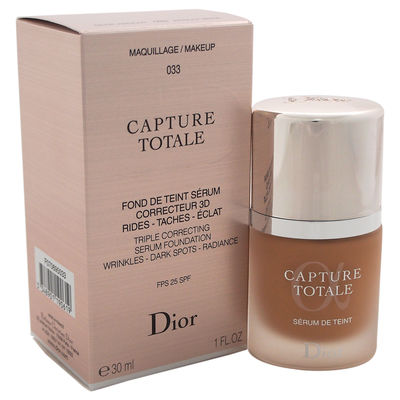 Christian Dior - Capture Totale Triple Correcting Serum Foundation SPF 25 - # 033 Apricot Beige 1oz