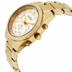 Caravelle Champagne Dial Stainless Steel Ladies Watch 44L118 - Thumbnail