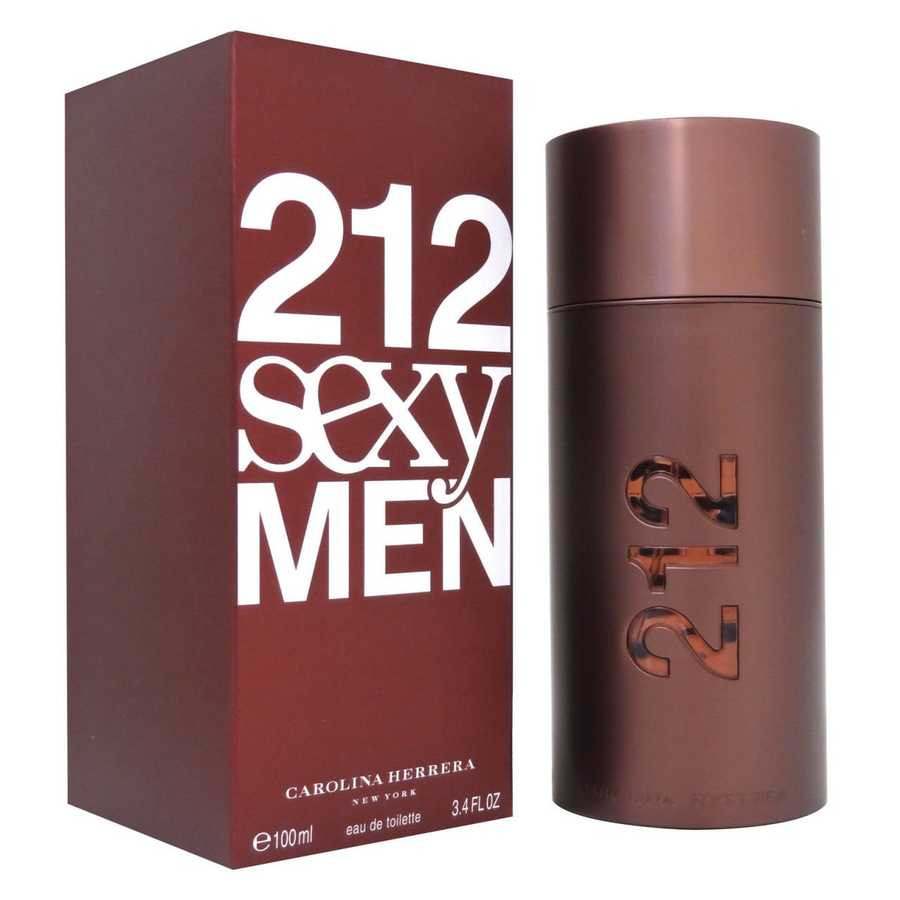 Carolina Herrera 212 Sexy Men 100 EDT Men Perfume (Original)