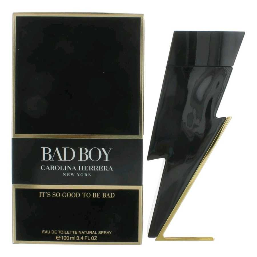 Carolina Herrera Bad Boy EDT 100 ML Men Perfume (Original)