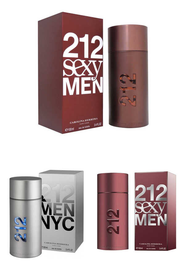 Carolina Herrera Most Loved Men Original Perfume Set