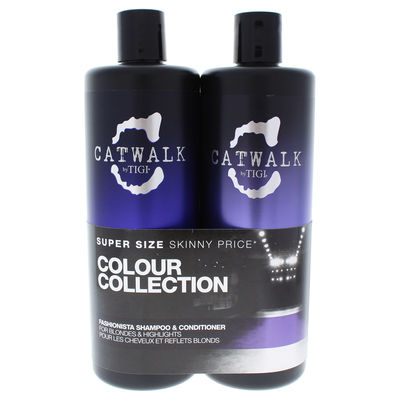 TIGI - Catwalk Fashionista Violet Duo 25,36oz
