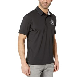 Champion College Black Michigan State Spartans Solid Polo - Thumbnail