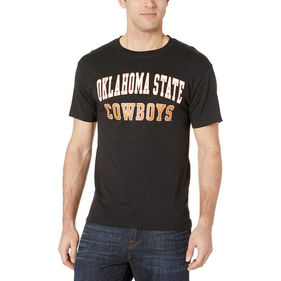 Champion College Black Oklahoma State Cowboys Jersey Tee