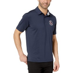 Champion College Black Ole Miss Rebels Solid Polo - Thumbnail