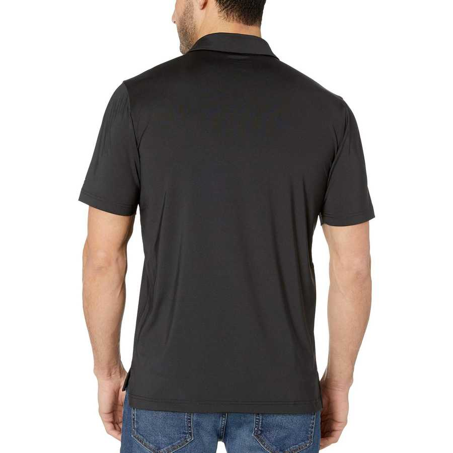 Champion College Black South Carolina Gamecocks Solid Polo