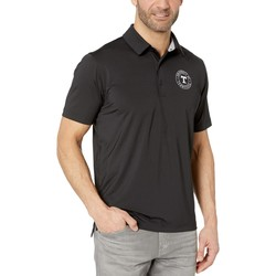 Champion College Black Tennessee Volunteers Solid Polo - Thumbnail