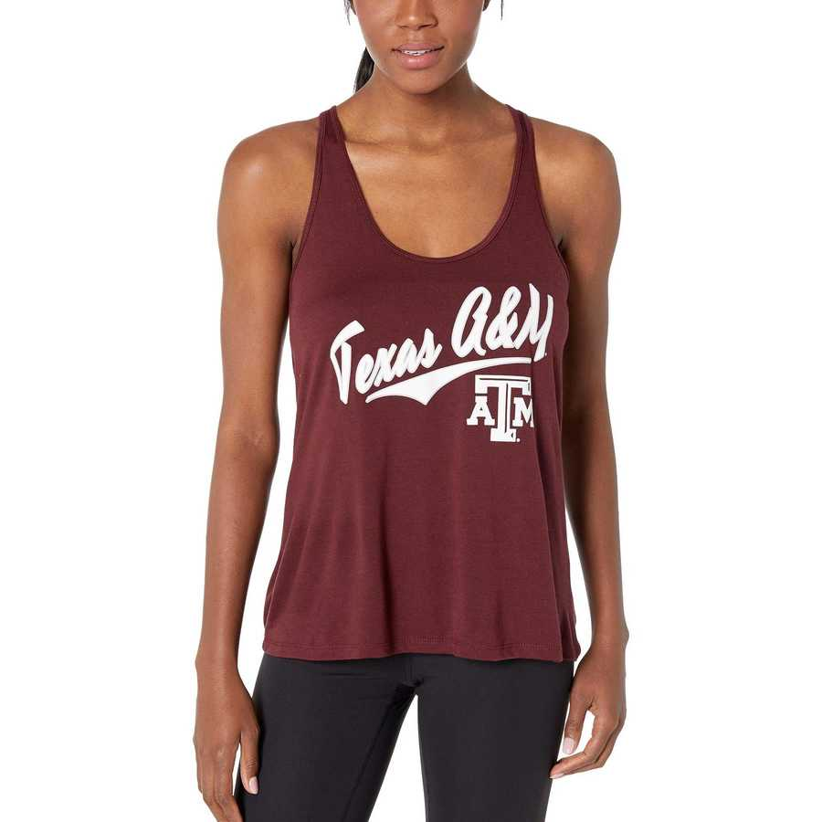 Champion College Maroon 3 Texas A&M Aggies Eco Swing Tank Top
