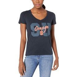 Champion College Navy 1 Syracuse Orange University V-Neck Tee - Thumbnail