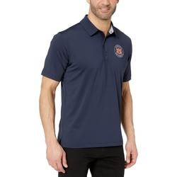 Champion College Navy Auburn Tigers Solid Polo - Thumbnail