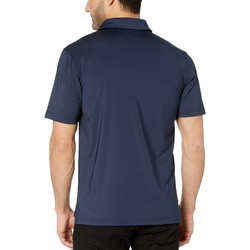 Champion College Navy Michigan Wolverines Solid Polo - Thumbnail