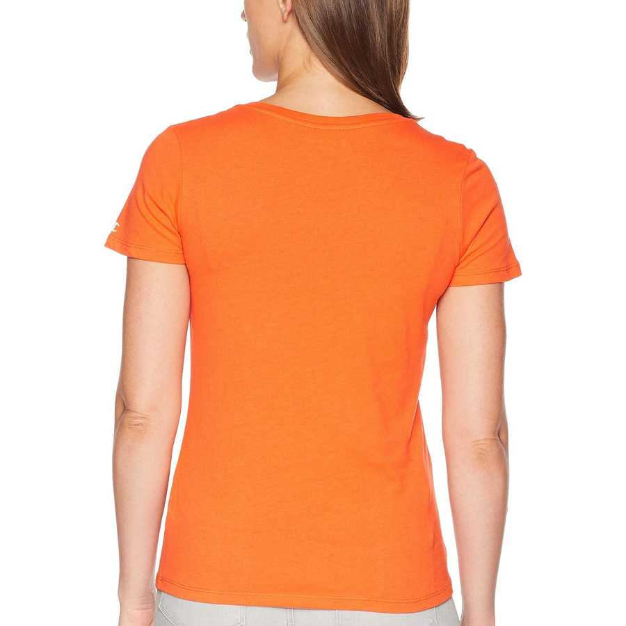 Champion College Orange Boise State Broncos University V-Neck Tee
