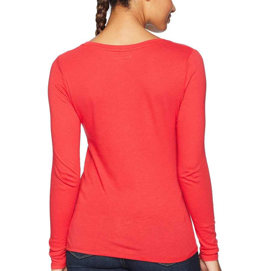 Champion College Scarlet Louisville Cardinals Long Sleeve V-Neck Tee