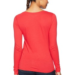 Champion College Scarlet Louisville Cardinals Long Sleeve V-Neck Tee - Thumbnail