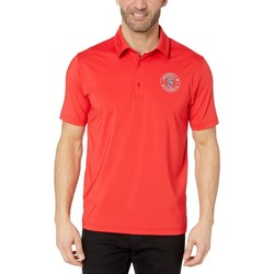 Champion College Scarlet Wisconsin Badgers Solid Polo - Thumbnail