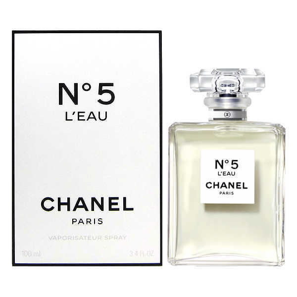 Chanel No.5 L″Eau 100 ML EDT Women New (Original Tester Perfume)