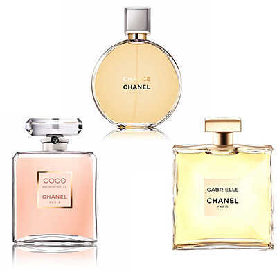 Chanel Women Triple Set 1