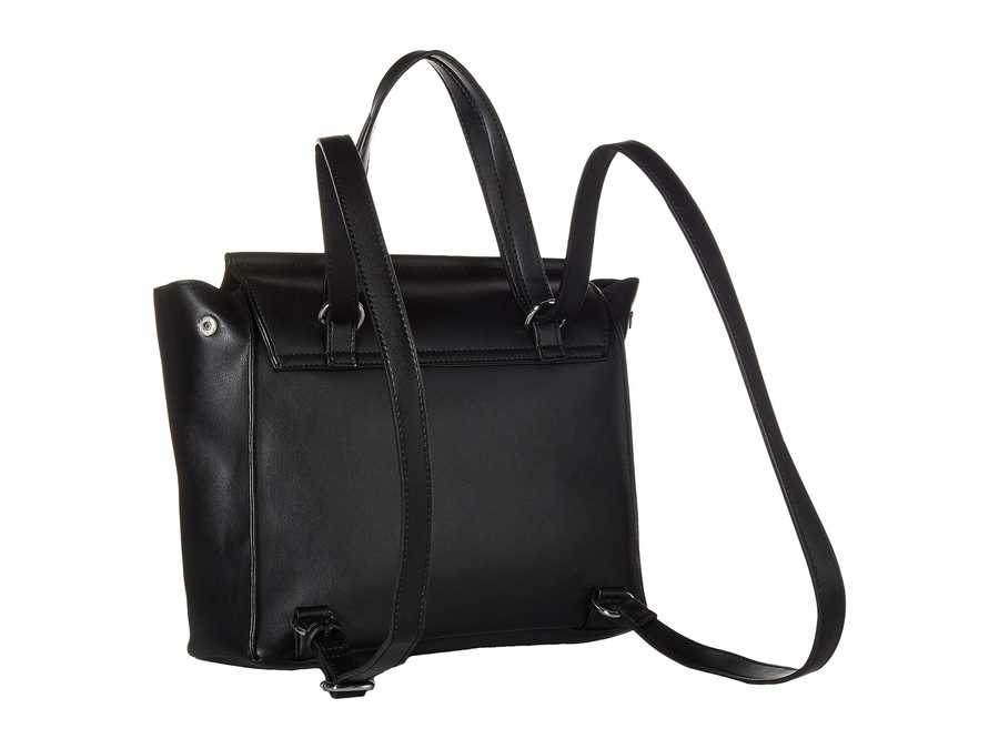 Circus By Sam Edelman Black Casey Bow Convertible Backpack
