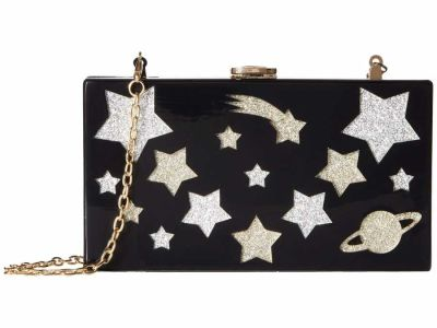 Circus By Sam Edelman - Circus by Sam Edelman Black Galaxy Galaxy Clutch Bag