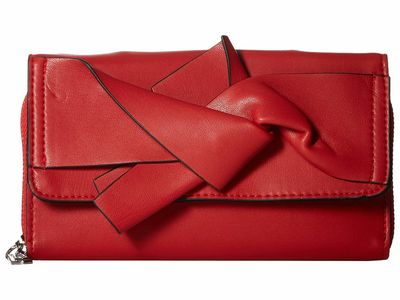 Circus By Sam Edelman - Circus By Sam Edelman Red Bow Wallet Checkbook Wallet