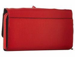 Circus By Sam Edelman Red Bow Wallet Checkbook Wallet - Thumbnail