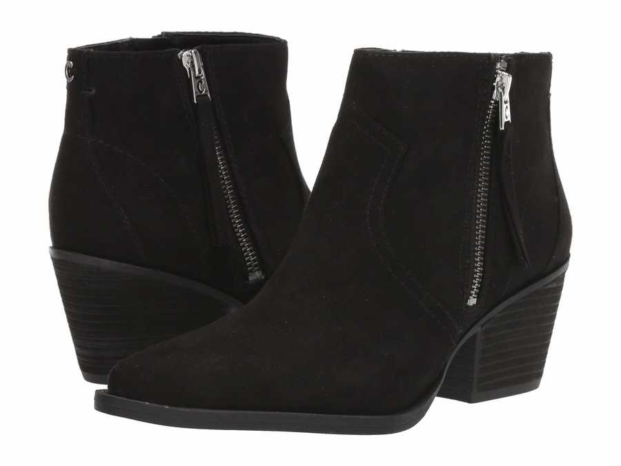 Circus By Sam Edelman Women Black 2 Whistler Ankle Bootsbooties