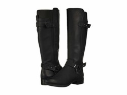 Circus By Sam Edelman Women Black Pico Knee High Boots - Thumbnail