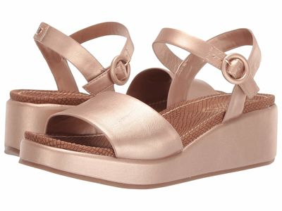 Circus By Sam Edelman Women Blush Gold New Raw Edge Sarah Heeled Sandals