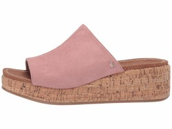 Circus By Sam Edelman Women Cameo Pink Microsuede Sylvia Heeled Sandals - Thumbnail