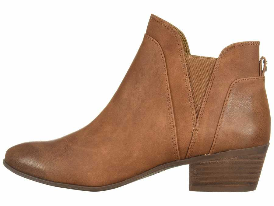 Circus By Sam Edelman Women Dark Golden Caramel Pent Ankle Bootsbooties