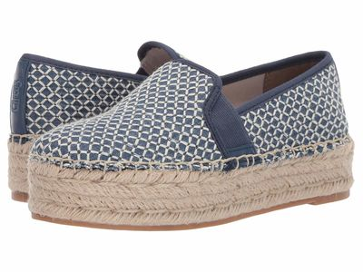 Circus By Sam Edelman - Circus By Sam Edelman Women Mid Blue Crosshatch Chambray Christina Loafers