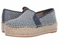 Circus By Sam Edelman Women Mid Blue Crosshatch Chambray Christina Loafers - Thumbnail