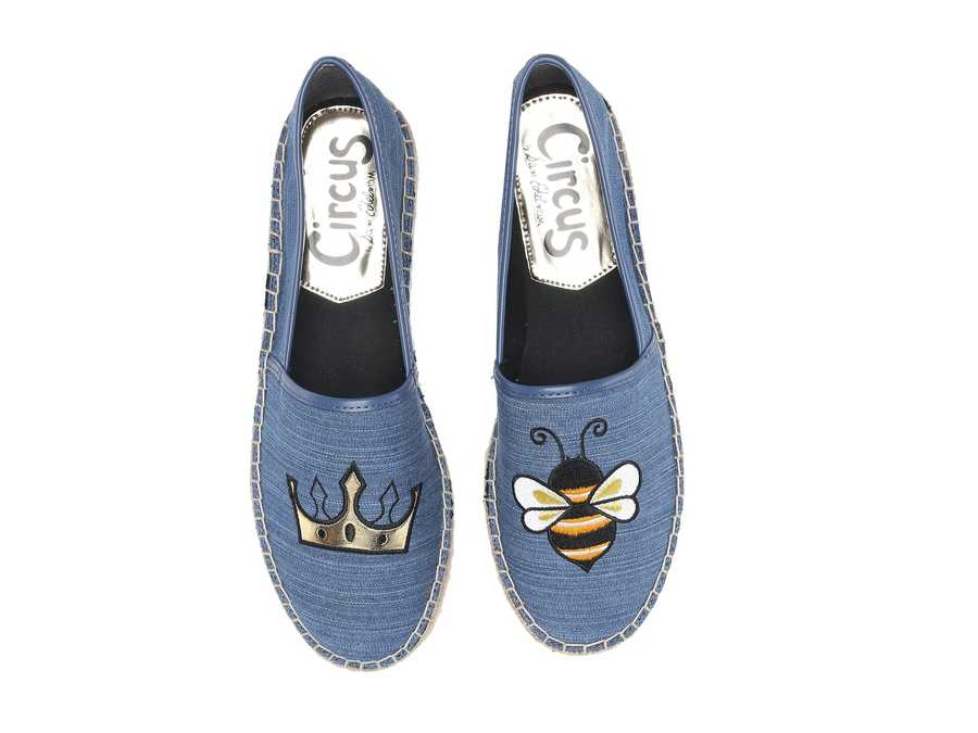 Circus By Sam Edelman Women Mid Blue Leni 6 Loafers