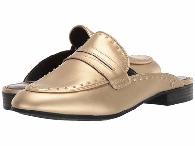 Circus By Sam Edelman Women Molten Gold Soft Alloy Hanlon Loafers
