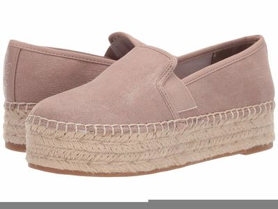 Circus By Sam Edelman - Circus By Sam Edelman Women Pink Sand New Shimmer Suede Christina Loafers