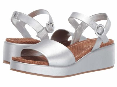 Circus By Sam Edelman - Circus By Sam Edelman Women Soft Silver New Raw Edge Sarah Heeled Sandals