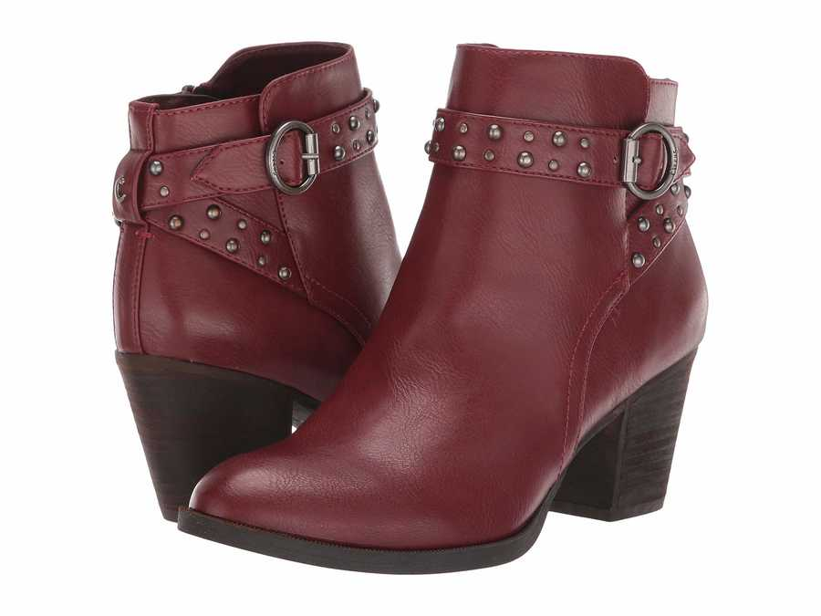 Circus By Sam Edelman Women Spiced Mahogany Monica Ankle Bootsbooties