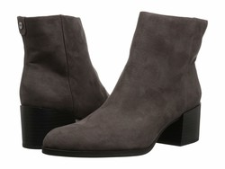 Circus By Sam Edelman Women Steel Gray Microsuede Jennifer Ankle Bootsbooties - Thumbnail